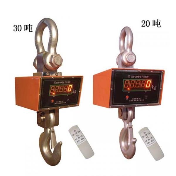 上海衡器总厂30吨直视吊秤