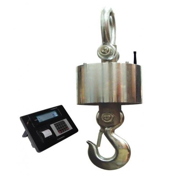 上海衡器总厂无线带打印吊钩秤