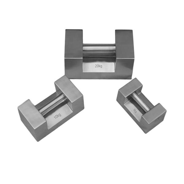 不锈钢锁型手提砝码